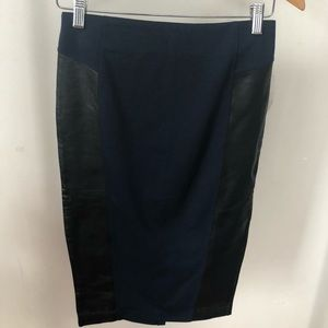 NWT 14th & Union Navy Pencil Skirt size 2